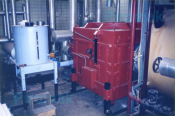Impianto smaltimento rifiuti, piromak2