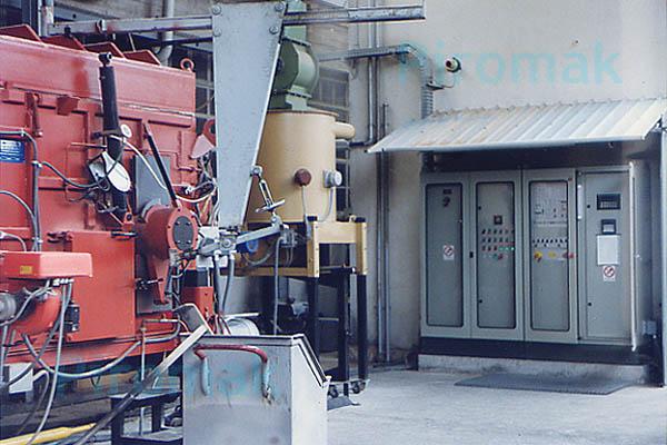 Impianto smaltimento rifiuti, piromak3