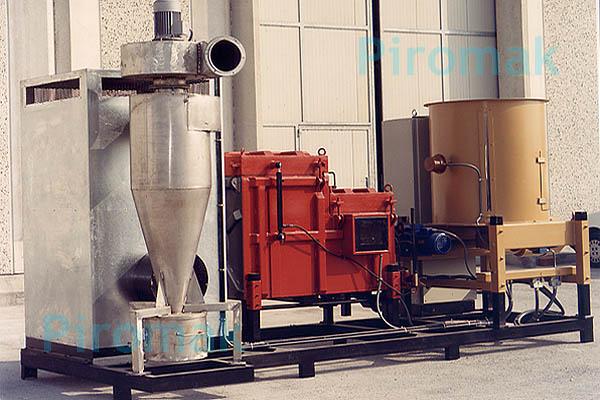 Impianto smaltimento rifiuti, piromak15