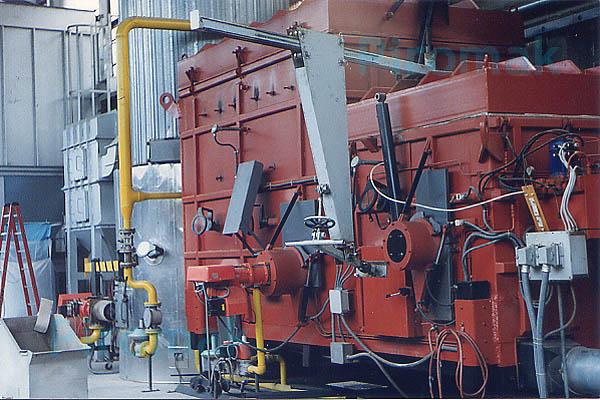 Impianto smaltimento rifiuti, piromak4